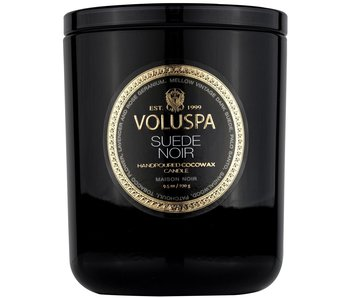 Suede Noir Classic Candle