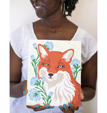 Elle Cree Paint-By-Number Kit - Fox with Chicory