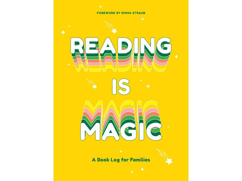Abrams Reading Is Magic: A Book Log For Families