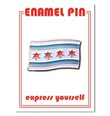 The Found Chicago Flag Pin