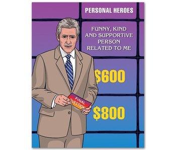 Jeopardy Dad Birthday Card