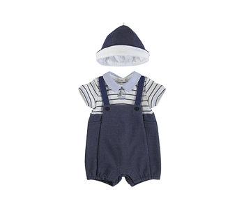 Hudson Knit Overall + Cap