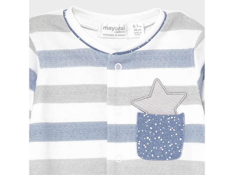 Mayoral Simon Star Pocket Pajamas