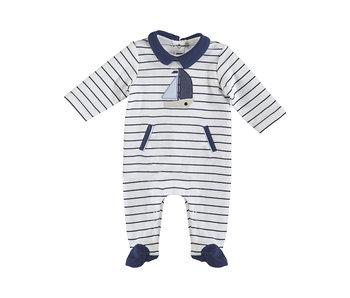 Liam Striped Sailboat Pajamas