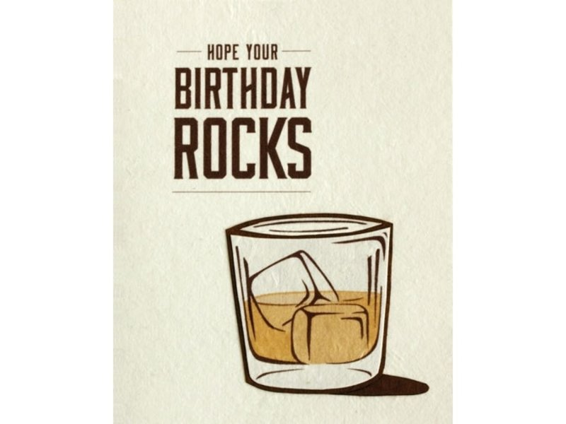 Good Paper Birthday Rocks