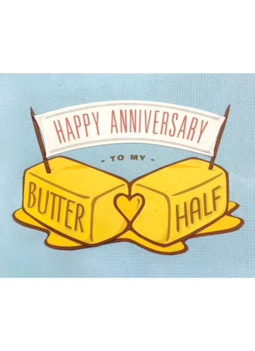 Butter Half Anniversary