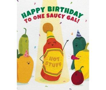 Saucy Gal Birthday