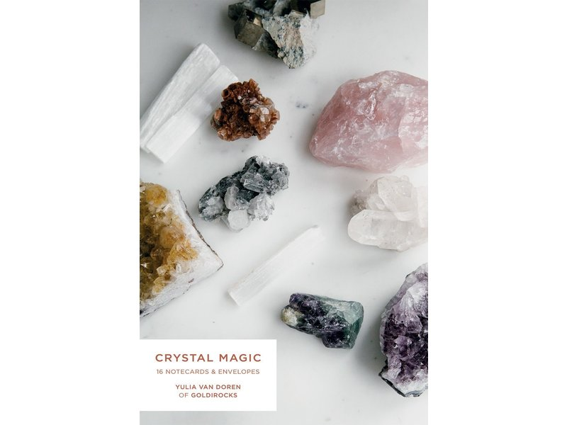 Chronicle Books Crystal Magic Notecards