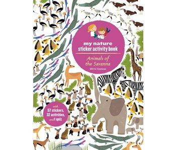My Nature Sticker Activity Book: Animals of the Savanna