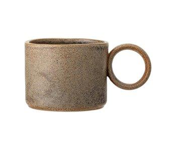 Stoneware Matte Brown Mug