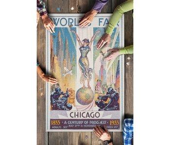 Chicago World's Faire 1000 Piece Puzzle