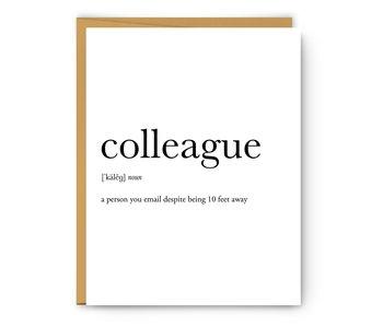 Colleague Definition