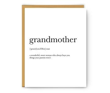 Grandmother Definition