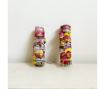 Floral Rosemary Smudge Stick