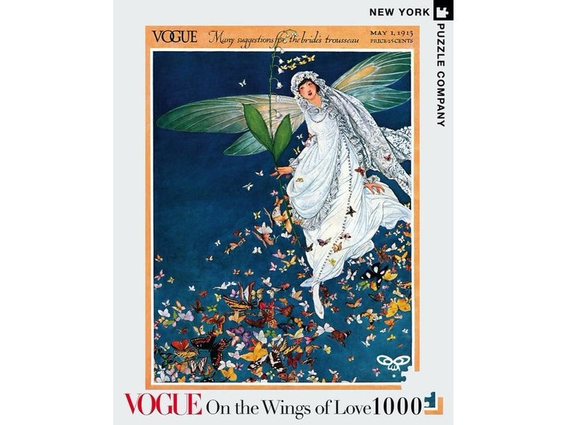 new york puzzle company On The Wings of Love