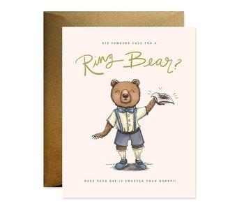 Ring Bearer Bear