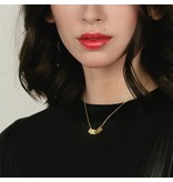Larissa Loden Jewelry MAMA Necklace 24k Gold Plated