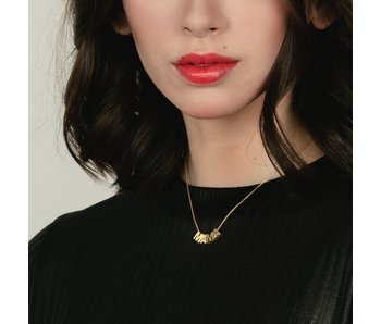 MAMA Necklace 24k Gold Plated