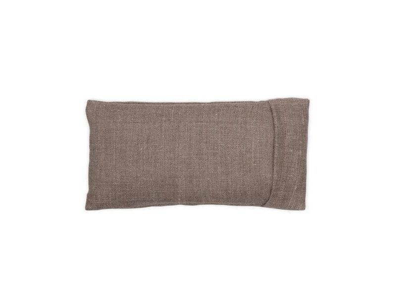 Elizabeth W Washed Natural Linen Eye Pillow