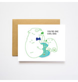 I Loot Paperie Cool Polar Bear Father's Day