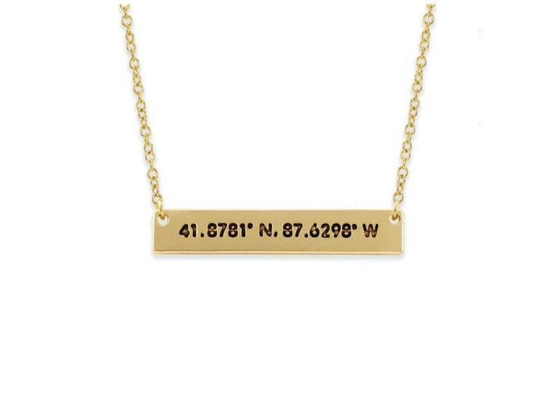 Lucky Feather Chicago Coordinate City Necklace