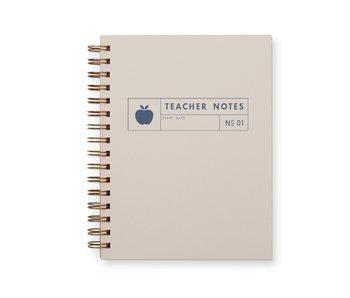 Teacher Journal: Lined Notebook