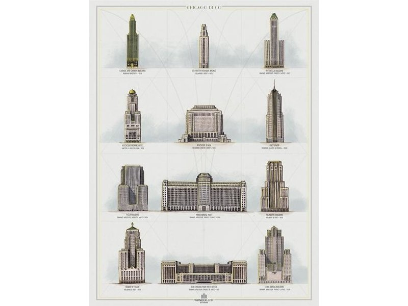 cape horn Illustrations Art Deco Of Chicago