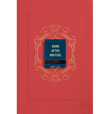 Random House Burn After Writing, Red Cover