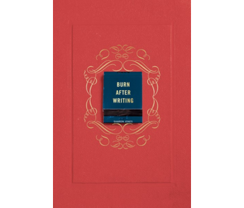 Burn After Writing, Red Cover