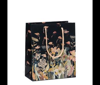 Floral Flamingo Gift Bag