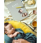 Write to Me Stationary & Press Baby Journal: Birth To Five Years Grey