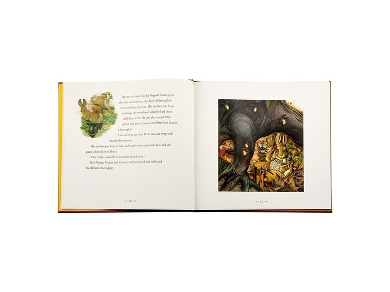 Graphic Image Inc. Peter Rabbit Leather Heirloom Book Collection