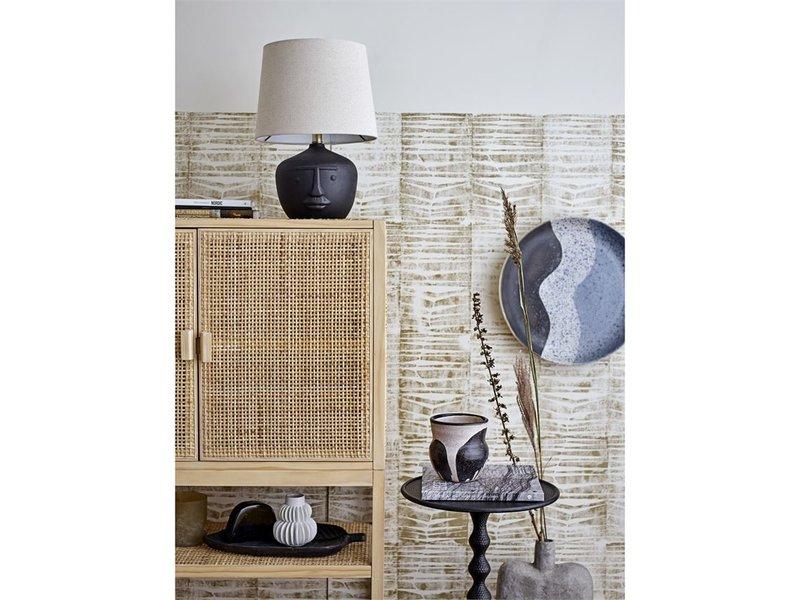 Bloomingville Decorative Handmade Paper Mache Abstract Vase
