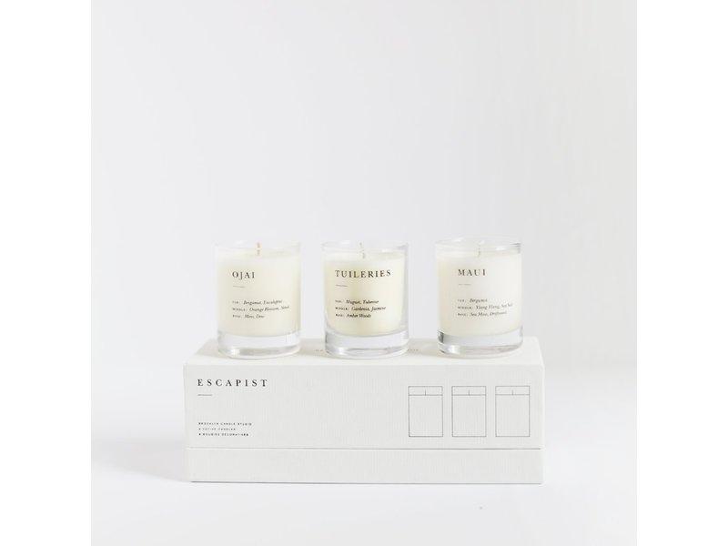 brooklyn candle studio Escapist Votive Set - Fresh + Floral