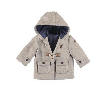 Walnut Toggle Hooded Jacket
