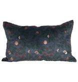 Creative Co-OP Cotton Floral Lumbar Pillow