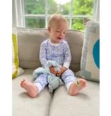 Joy Street Kids Chicago Blue Pajama Set