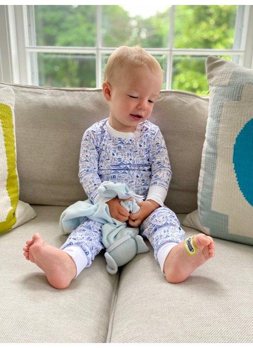 Chicago Blue Pajama Set