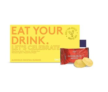 Let's Celebrate: Eat Your Drink