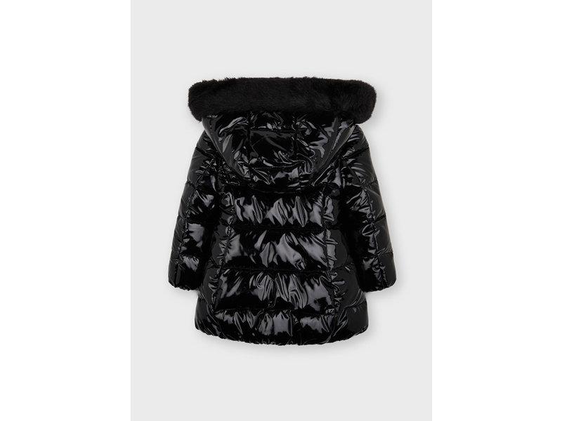 Mayoral Puffer Black Coat
