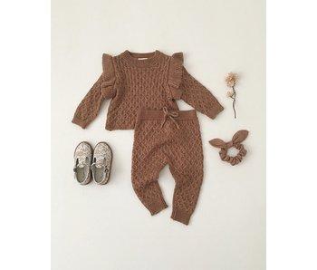 La Reina Sweater + Knit Gable Pant
