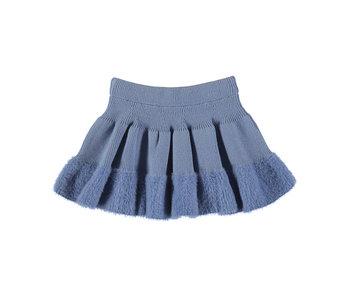 Indigo Knit Skirt