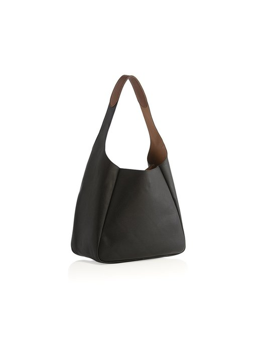 Maya Black Shoulder Bag