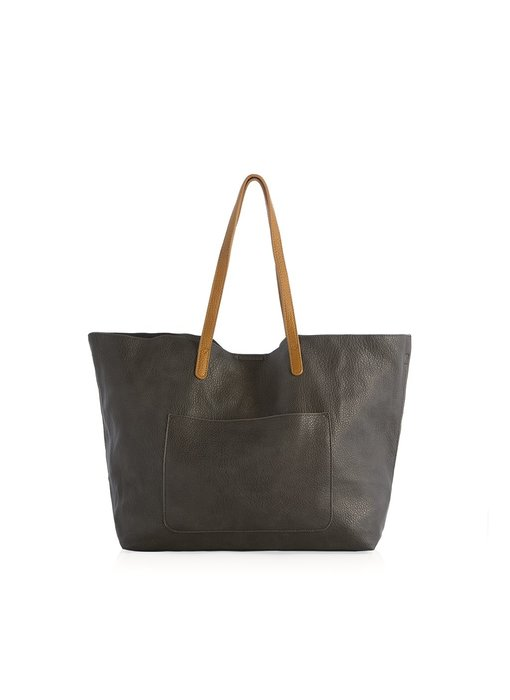 Arden Charcoal Pop Tote