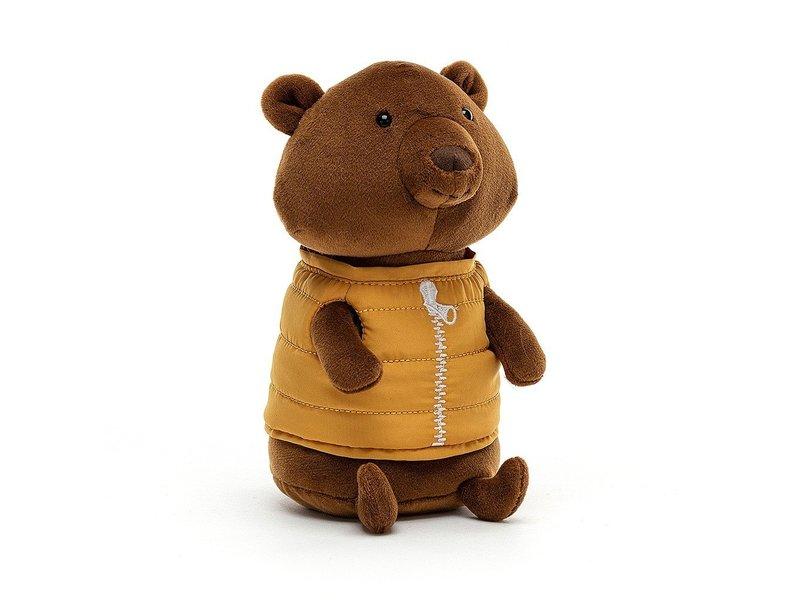 JellyCat Inc Campfire Critter Bear