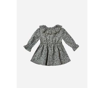 Ruffle Collar Baby Dress