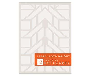 Frank Lloyd Wright Blind Embossed Notecard Set