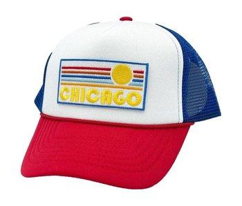 Chicago Toddler Trucker Hat