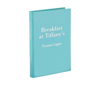 Breakfast at Tiffany's  Leather Heirloom Book Collection