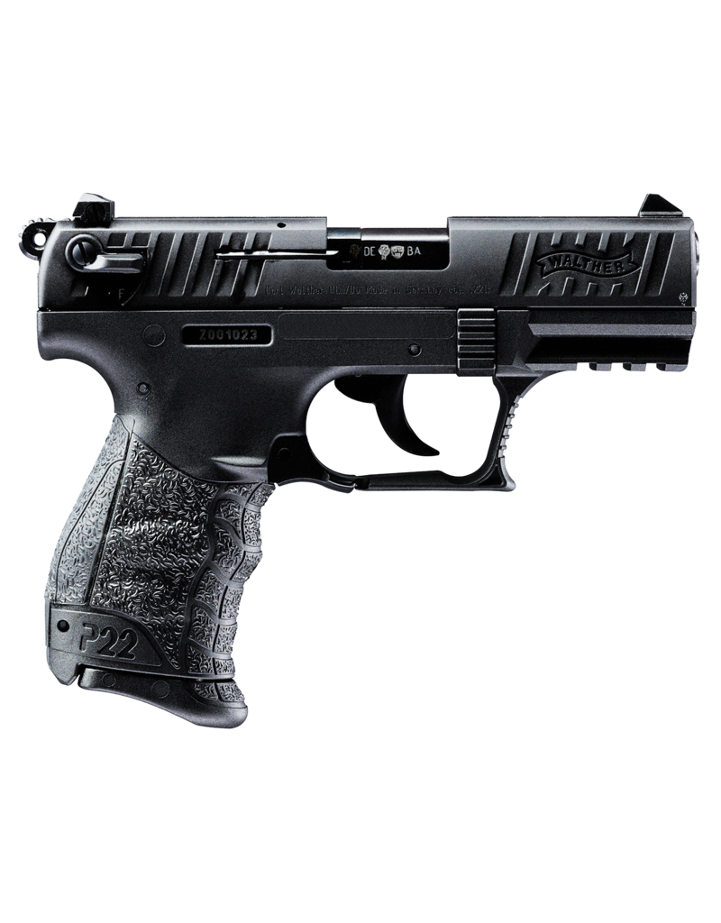 WALTHER WALTHER ARMS INC P22 BLACK 22 PISTOL